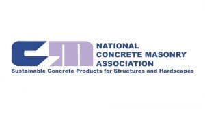 National Concrete Masonry Association logo certification